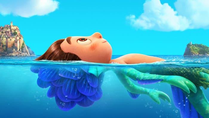 Luca mitad humano y mitad monstruo marino
